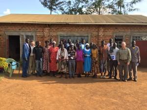 SOS Team With Volunteers