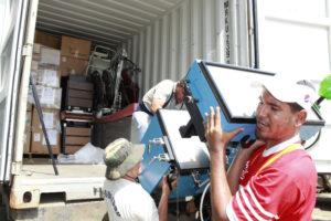 Manabi Container Unloading