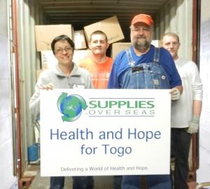 Medical Supplies to Togo