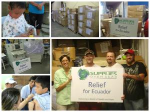 Medical Supplies To Ecuador