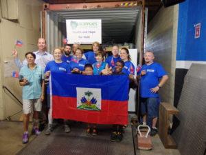 Supplies Overseas Team in Haiti