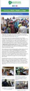News - Denise Medical Trip in Africa